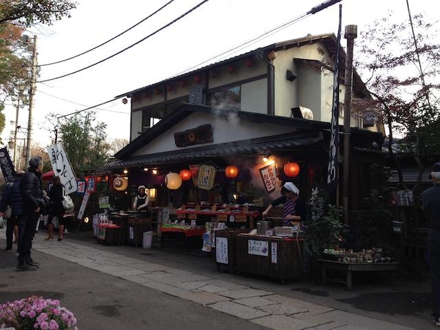 新宿から1時間・・・温泉・食と1日楽しめる「深大寺」