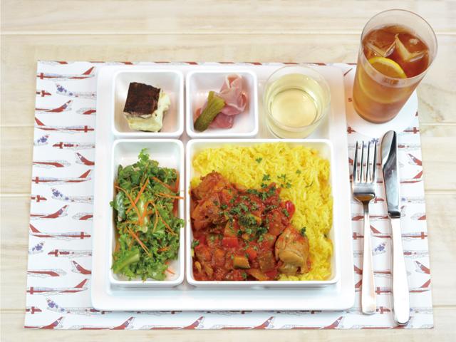 機内食をイメージしたブランチが楽しめる「stopover tokyo lounge」