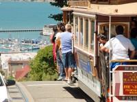 意外とジェットコースターな、サンフランシスコ「立って乗るケーブルカー」