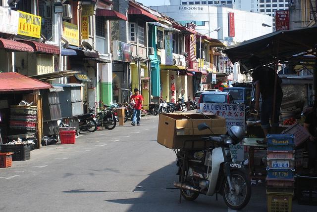 ペナン島、ミックスカルチャーの街「ジョージタウン」を歩く