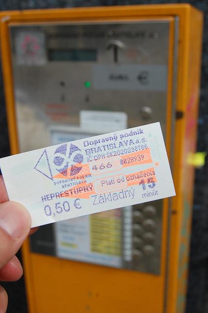 中欧で地下鉄やトラムに乗るなら、チケットに要注意!