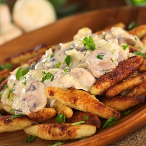 冬に楽しい簡単ジャガイモ料理、ドイツの「フィンガーヌードル」