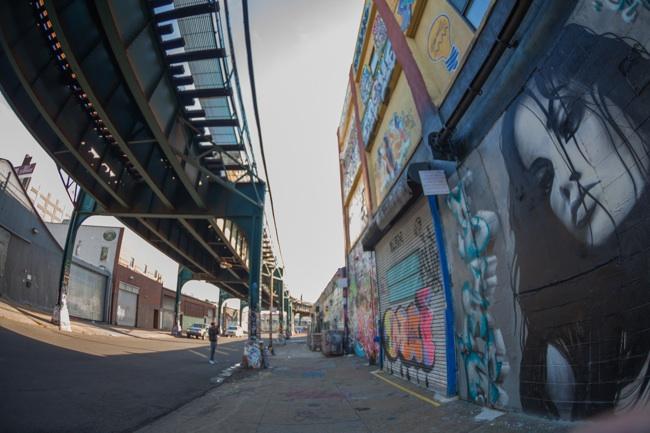ニューヨークのグラフィティのメッカ「5 Poinz」が失われた日