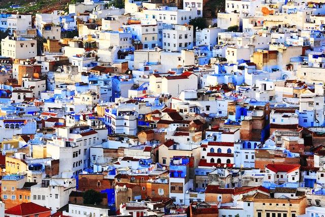 どこまでも青い街、モロッコ「シャウエン」