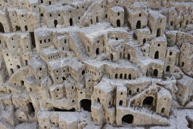 世界遺産、マテーラの洞窟住居