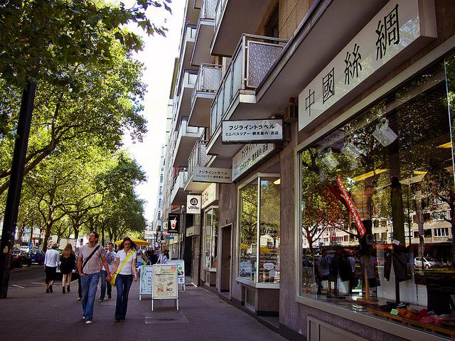 ヨーロッパ最大、ドイツ最大の日本人都市「デュッセルドルフ」