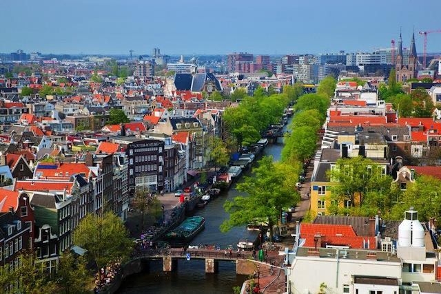 整然たる美しさ!空から見ると並びがすばらしい都市