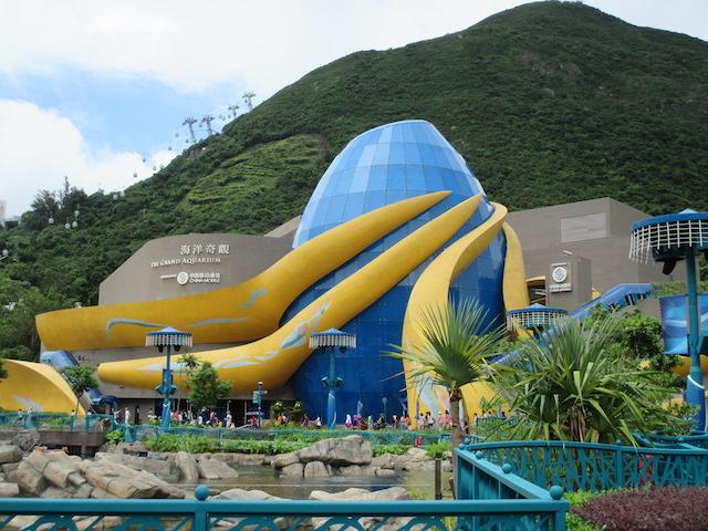 水族館、動物園、遊園地が一つに!誰でも思いっきり楽しめる「香港海洋公園」