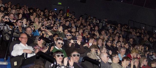 イギリスで一番大きいスクリーンで映画鑑賞してみたよ