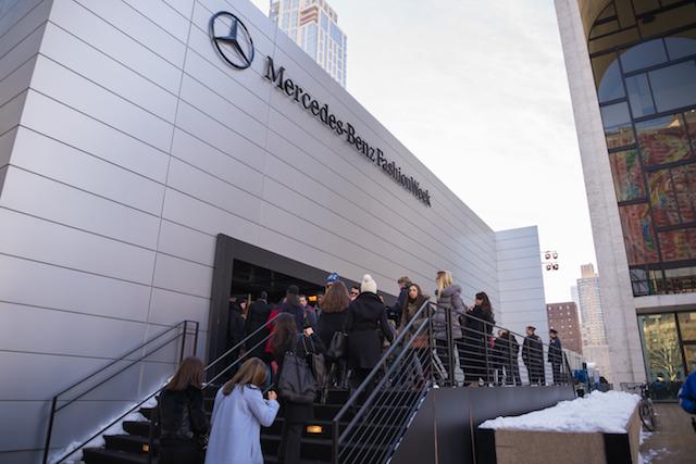 【NY最新ファッション】大雪の「ファッション・ウィーク」が熱かった