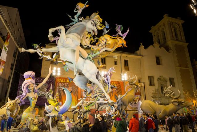 【バレンシア】スペイン三大祭り「サン・ホセの火祭り」がもうすぐ開催!