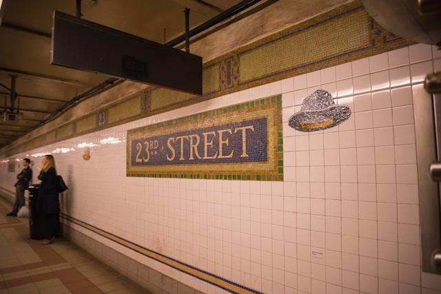 ニューヨークの地下鉄アートを巡る