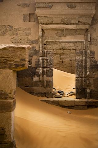 エジプトに憧れた古代人が造った、メロエの小型ピラミッド