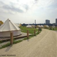 都会の真ん中で本格アメリカンBBQ!キャンプもできるアウトドアパーク