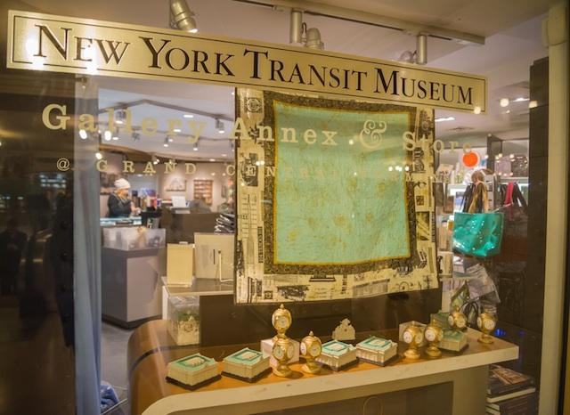 Ny tabizine for Ny transit museum store
