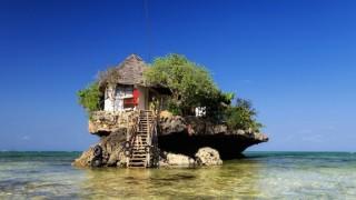 いつかは行ってみたい、インド洋に浮かぶレストランだけの小さな島