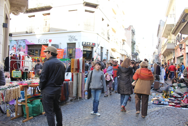 【現地レポート】「ブエノスアイレス」の日曜市はお土産の宝庫