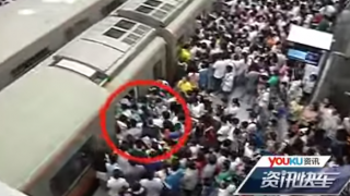 【動画】日本はまだマシ!?世界のありえない満員電車を集めてみた
