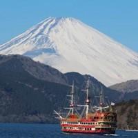 箱根海賊船に乗って芦ノ湖を旅しよう!