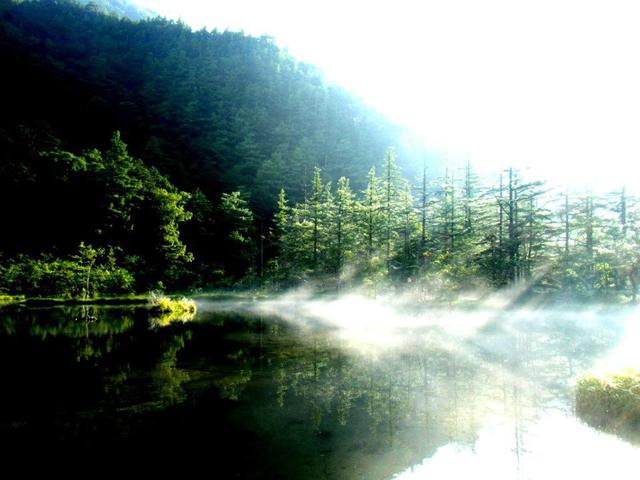 上高地の聖地 明神池が神秘的過ぎる!