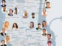 ミーハーといわれても知りたい!NYCセレブマップ