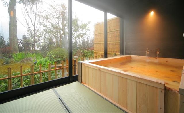 冬でもあったか。「畳風呂」がとにかく斬新!