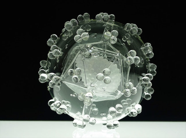 """不気味な程美しいウイルスの世界 """"Glass Microbiology"""""""