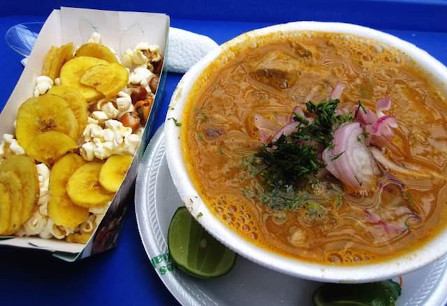 秋の食卓に南米料理はいかが? エクアドルの家庭料理「マグロのスープ」