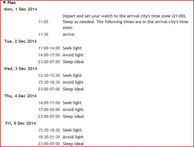 時差ボケ解消?!旅先での睡眠時間を調整してくれるウェブサイト