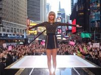 世界の歌姫テイラー・スウィフトがNYのキャンペーン・ガールに