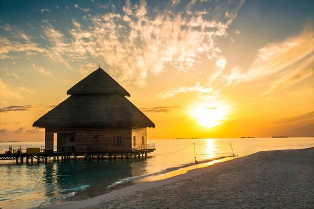 地球を彩る首飾りに泊まる。モルディブで愛のバウリニューアル!