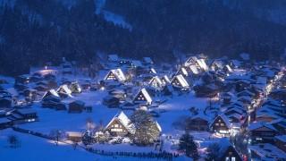 別世界へ誘う絶景。心静まる「日本の雪景色」