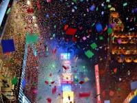 NYカウントダウンの紙吹雪になって舞う!2015年新年の夢。2014年の忘れたい悪夢。