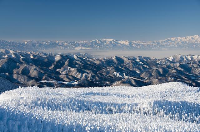 【日本の絶景】自然が生んだ芸術の世界、蔵王の樹氷