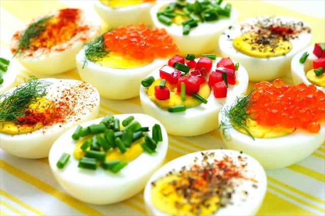 【レシピ】アメリカで人気! パーティーが華やぐ、オシャレな「ゆで卵」の前菜