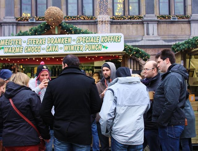 べギルーのアントワープのクリスマスマーケットに行ってきた