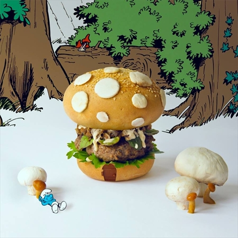 可能性は無限大。想像を絶するハンバーガーアート