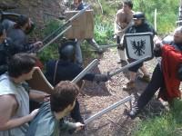 まさに騎士団!リアルロープレ「ソードクラフト」で中世戦士に