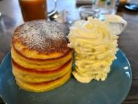 【鎌倉】縁側もある古民家カフェの名物パンケーキをいただく