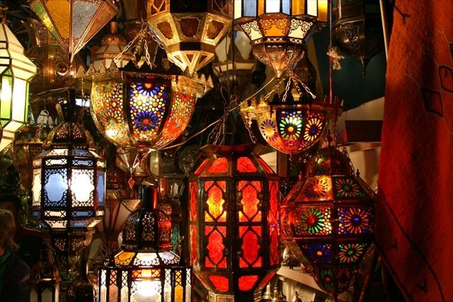 簡単!モロッコ雑貨でお部屋がエキゾチックな空間に大変身