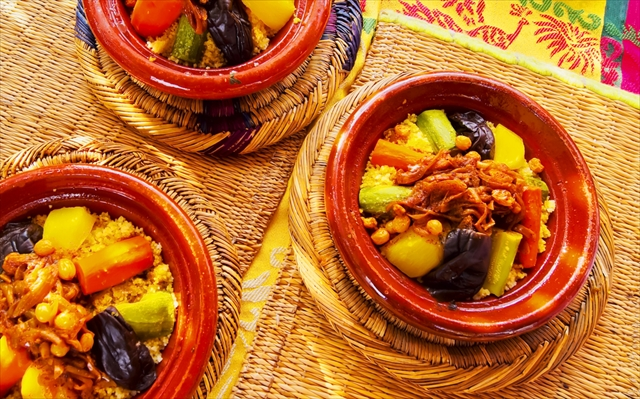 【モロッコへプチトリップ】ヘルシーで美肌にも良い都内のモロッコ料理店