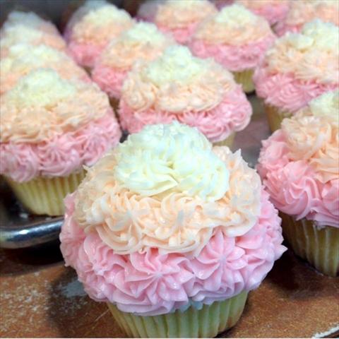 カラフルカップケーキ