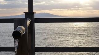 【伊豆】愛犬と泊まれる温泉宿「福の湯」海とつながっているような露天風呂
