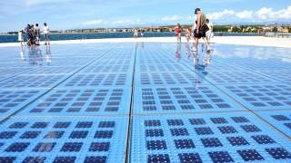 (クロアチア)太陽光がつくりだすインスタレーションの世界
