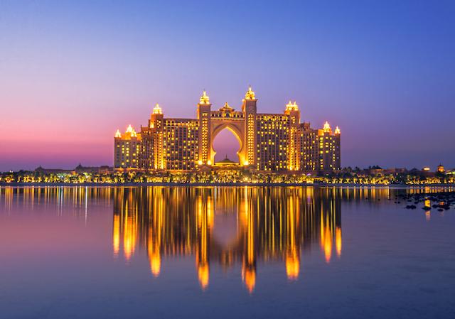 美しいホテル