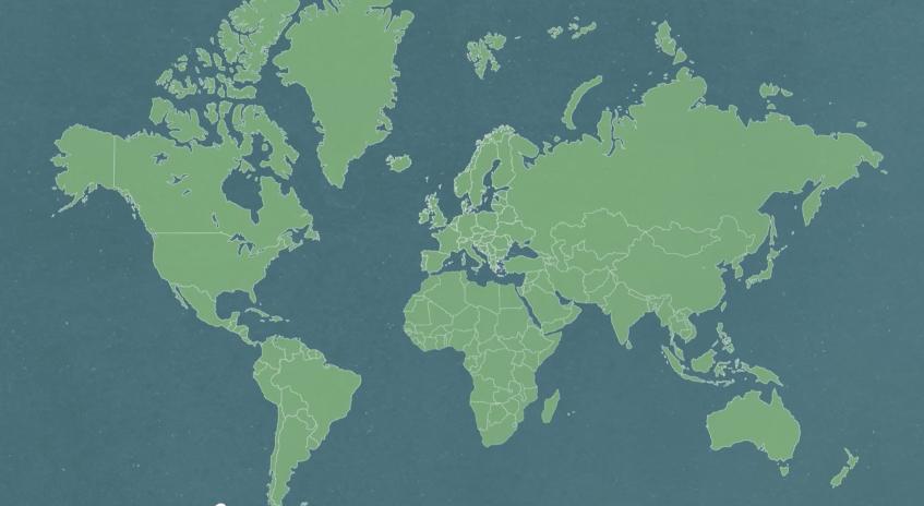 地図の嘘!?本当は全然違う世界地図と実際の国の大きさ