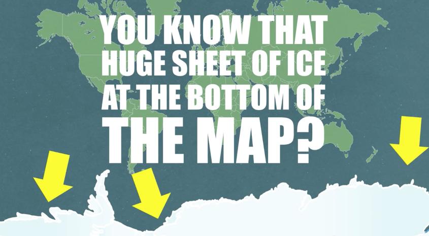 地図の嘘!?本当は全然違う世界地図の大きさと実際の国の大きさ
