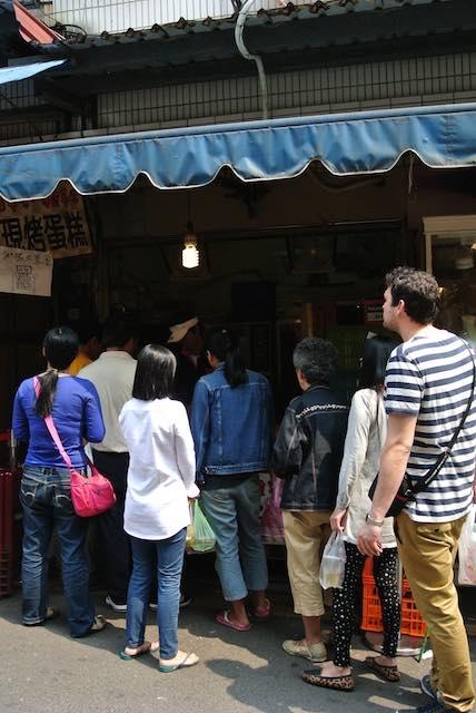 【台湾グルメ】ふわふわ、ウマウマ! 台湾人もオススメの「巨大カステラ」