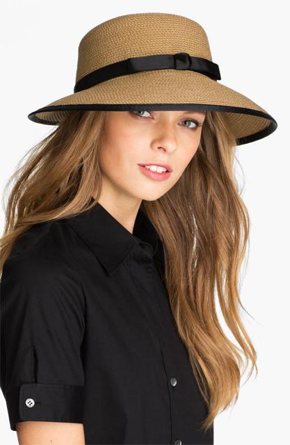 そろそろ気になる、夏の帽子