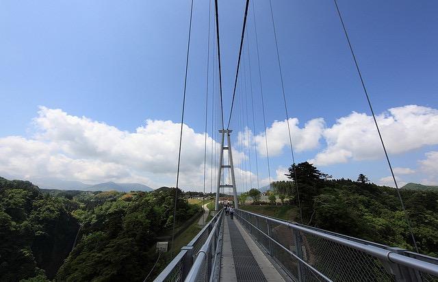 """【大分】いざ天空の散歩道へ!日本一の吊橋「九重""""夢""""大吊橋」"""